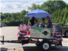 float in the 4th of July Parade