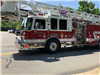 Fire Truck in the 4th of July Parade