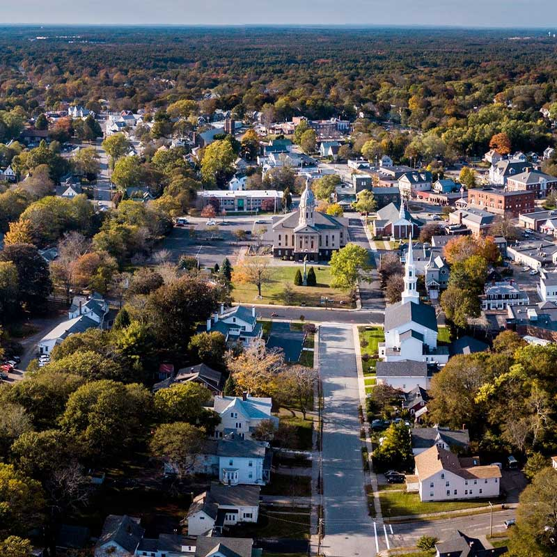Middleborough aerial