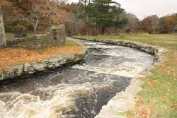 Nemasket River Herring Run at Oliver Mill Park