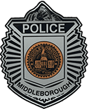 Middleborough Police Department Patch logo